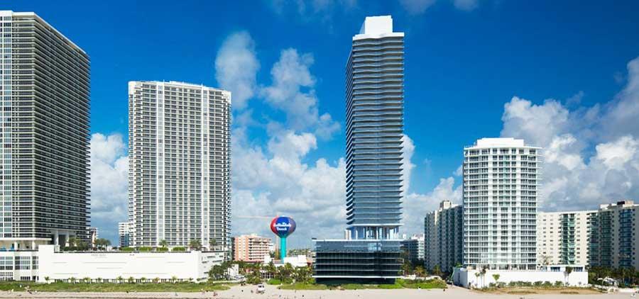 Hyde Beach Resort & Residences - new developments in Hollywood