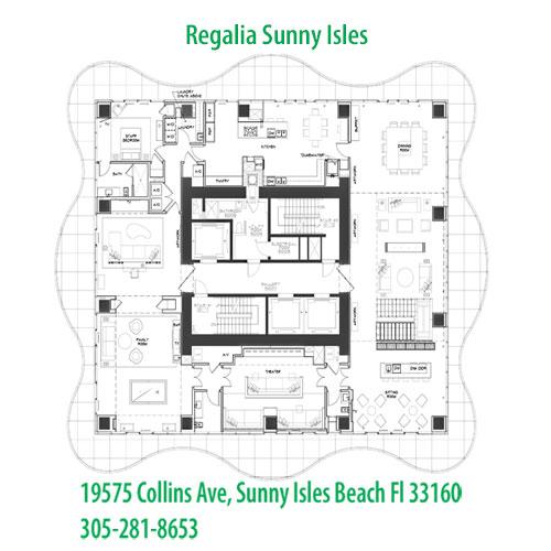 Regalia floor plans
