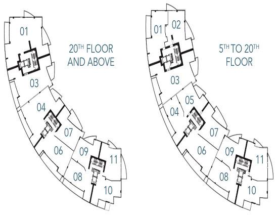 trump Royale floor plans