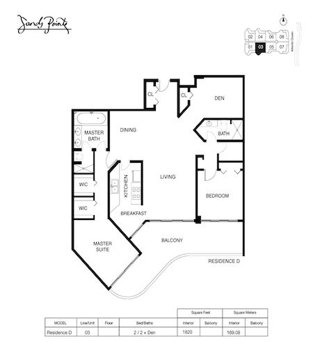 Sands Pointe Floor Plan 03