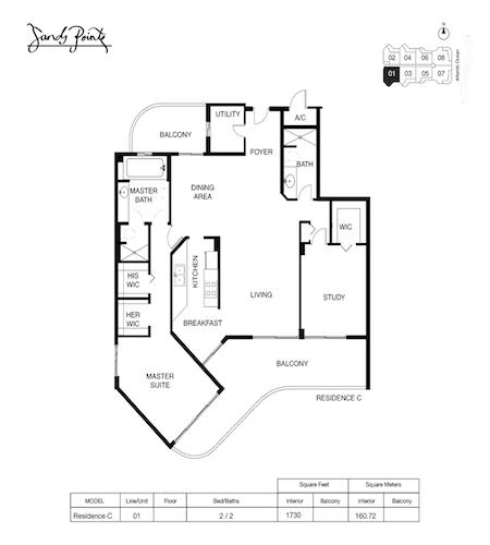 Sands Pointe Floor Plan 01