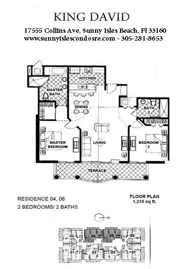King David Floor Plans