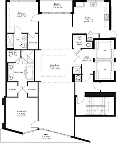 Sayan 2-2.5 Bh floor plan
