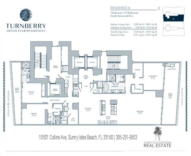 A turnberry ocean club floor plans