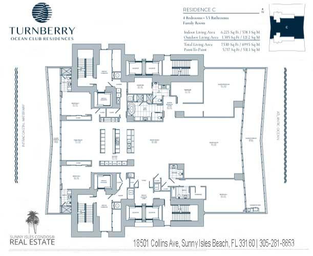 C turnberry ocean club floor plans