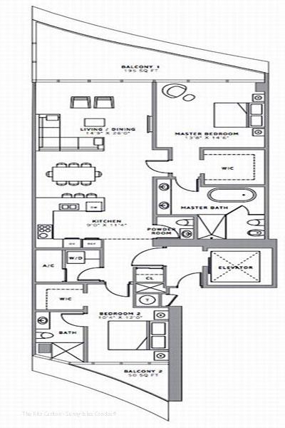 ritz carlton floor plans