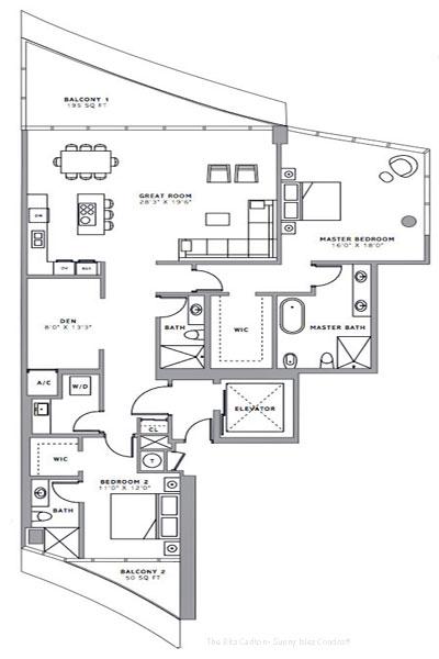 the ritz carlton floor plans