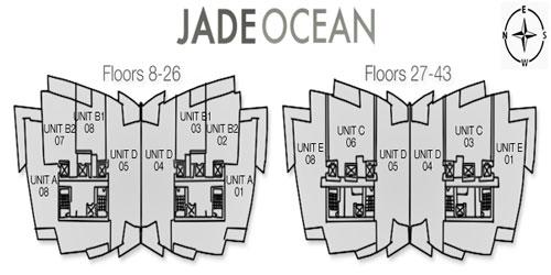 Jade Ocean Key Plan