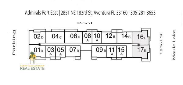 admirals port east master floor plan
