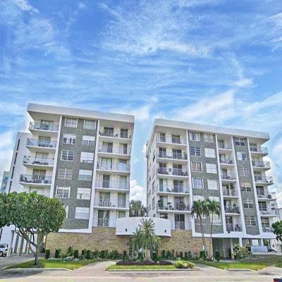 Stuart house condominium complex