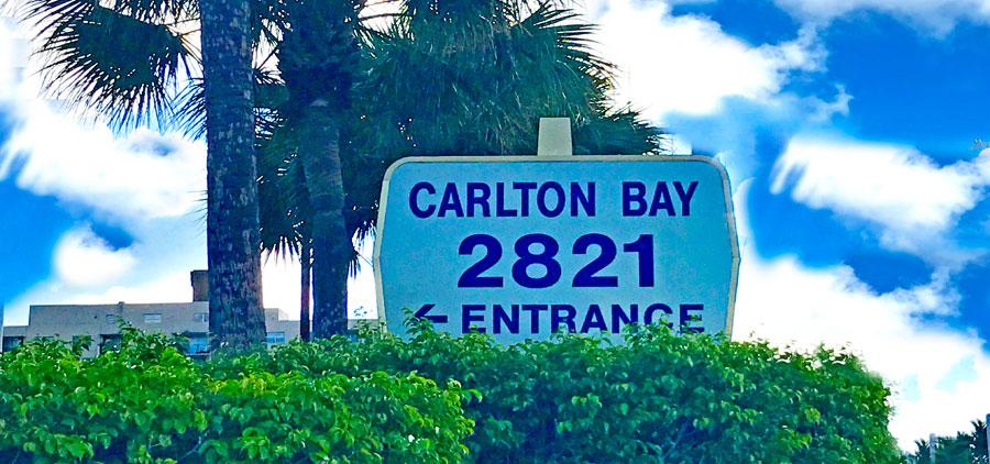 carlton bay apartment building