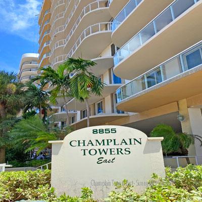 champlain towers east condo