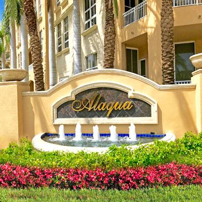Alaqua condominium complex
