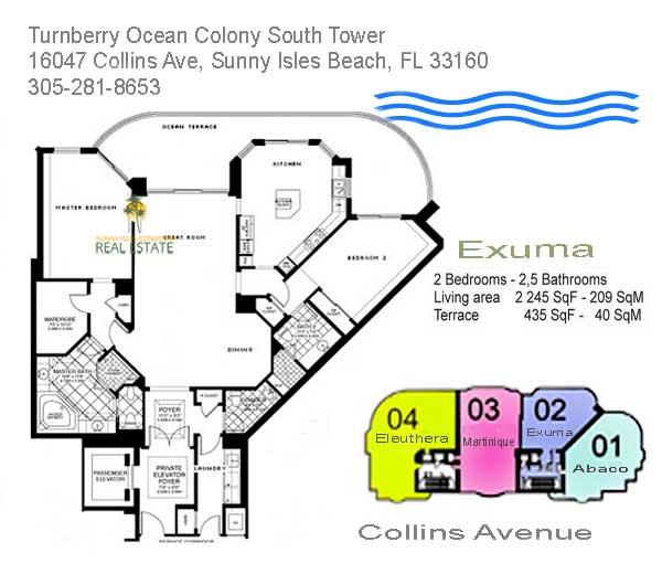 turnberry ocean colony exuma condo
