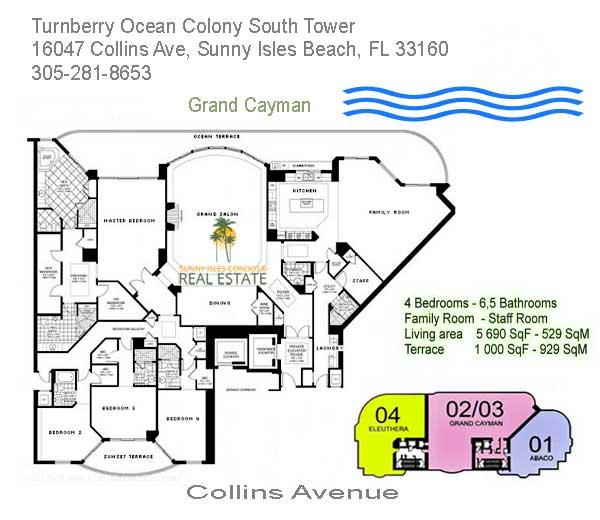 turnberry ocean colony grand cayman