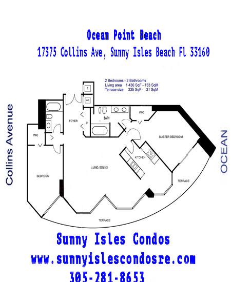 Ocean Point Floor Plans Line 0B 2