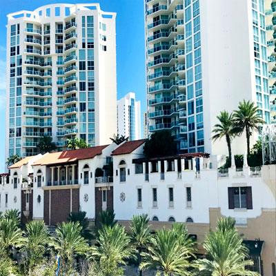 St Tropez condominium complex