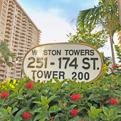 Winston towers 200 apartment building