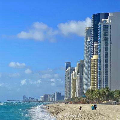 chateau beach condominium complex