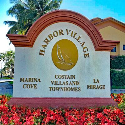 contain villas residential building