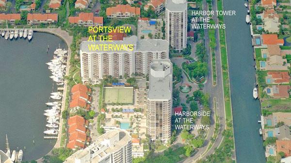 Portsview at the Waterways condominium complex