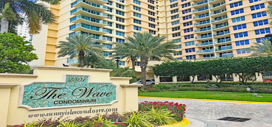 the waves condominium complex