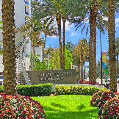 trump towers 2 condos sunny isles beach fl 33160
