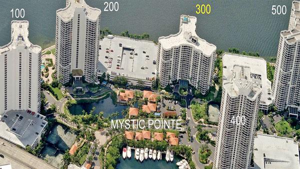 mystic pointe 300 condo complex