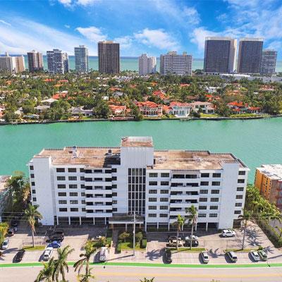 the belmont bay harbor condominium complex
